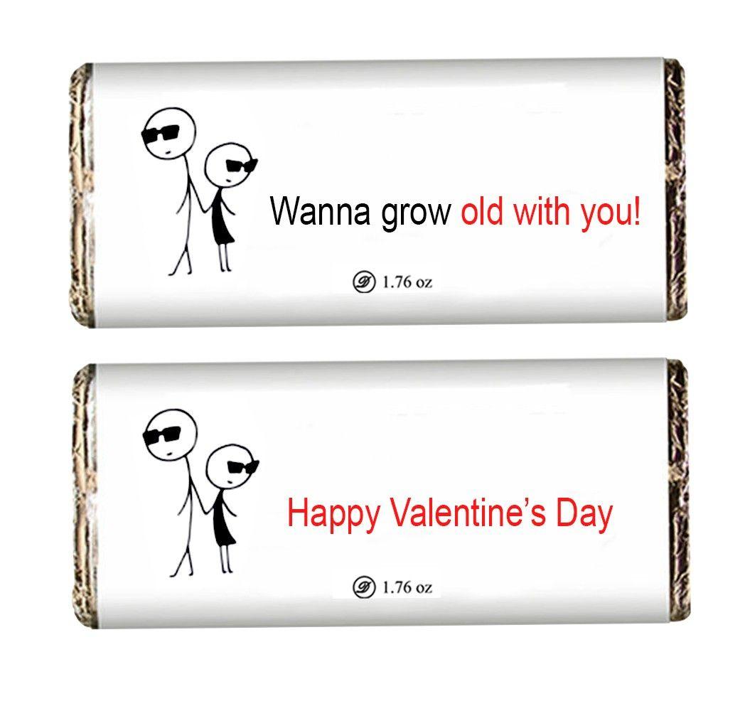Everlasting Love Valentine Chocolate Bars
