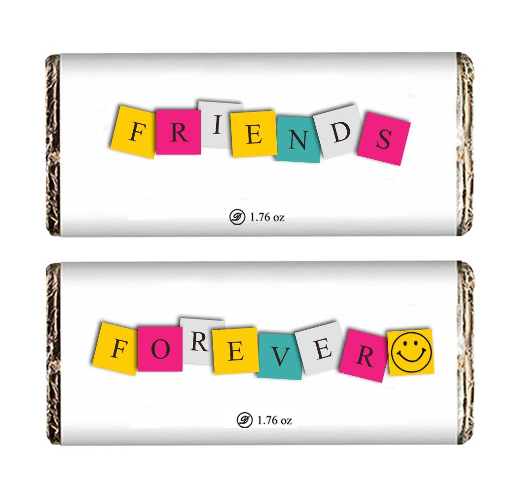 Friends Forever Chocolate Bar