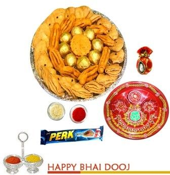 Bikanervala Delicious Bhaidooj  Tea Snacks