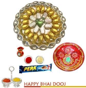 Bikanervala bhaidooj Chocolates Tray
