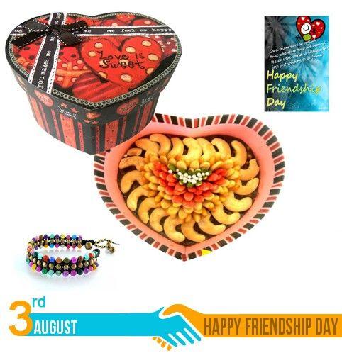 Bikanervala Heart Cake-Friendship Day