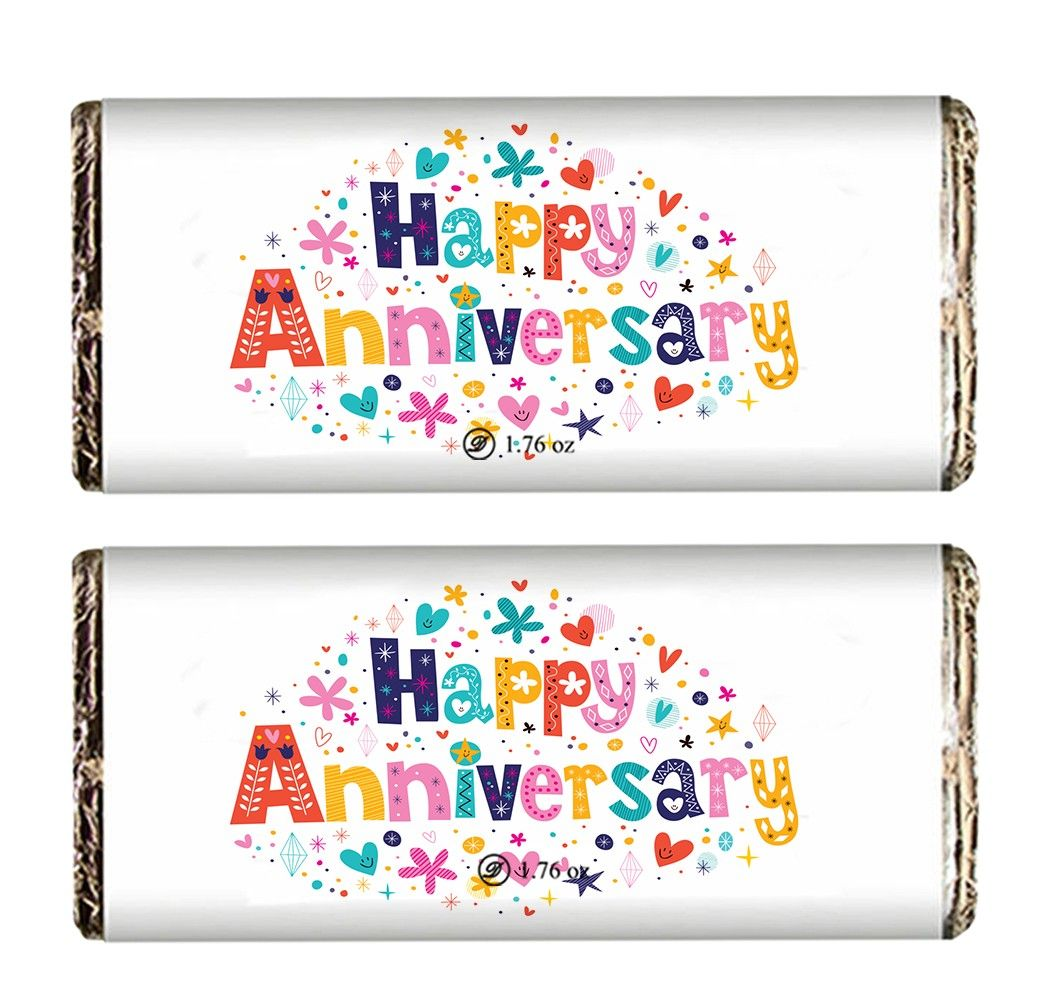 Anniversary Special Chocolate Bars