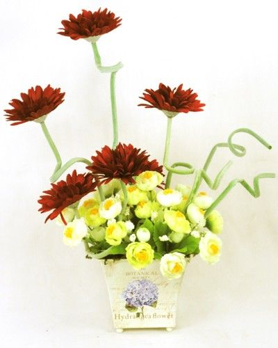 Gerbera Twist - Red