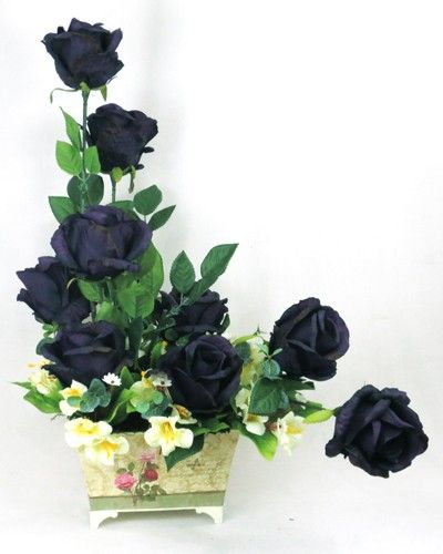 Roses all the Way - Blue