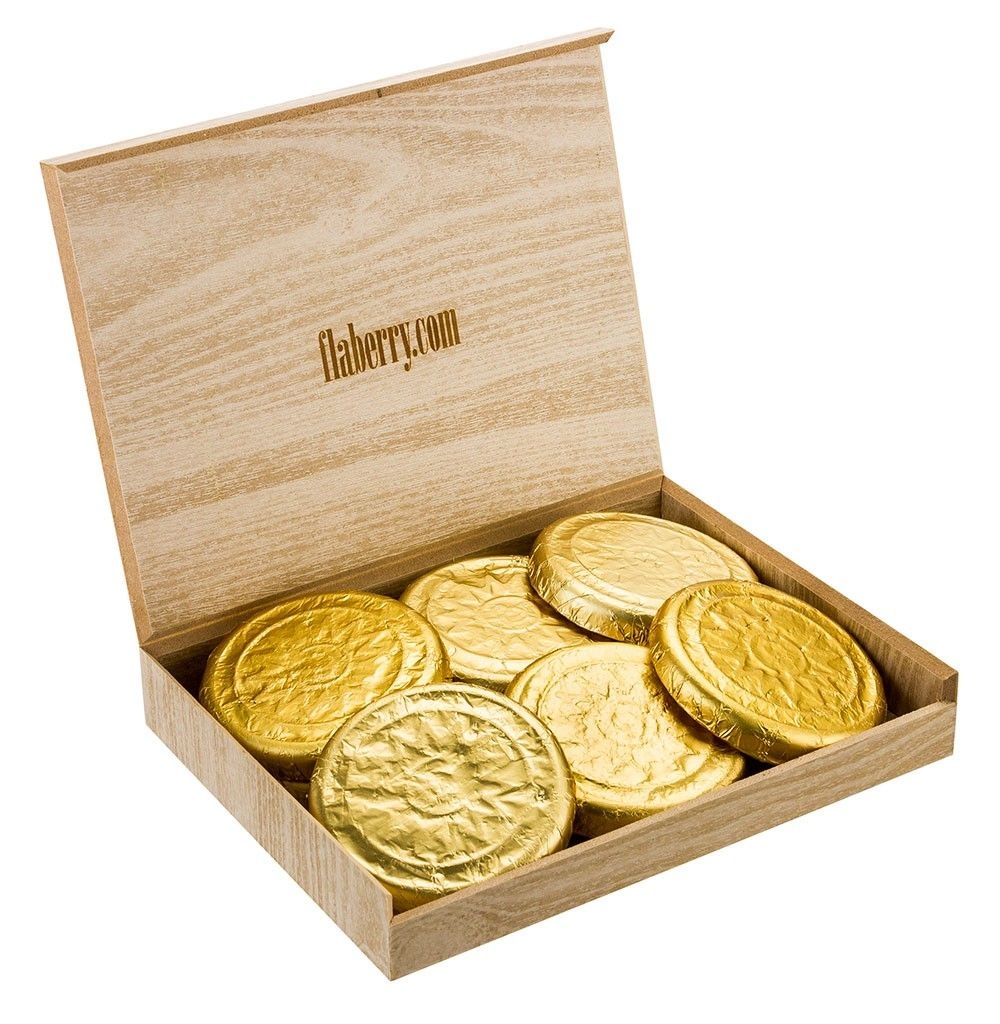 Dark Ivory Gold Coins- Small