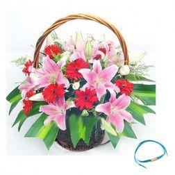Lilies Basket - Friendship Day