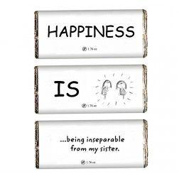 Happiness delightful Chocolate bar