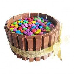 Gems & Chocolate Cake - 1 kg