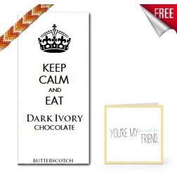 Dark Ivory Butter Scotch Chocolate