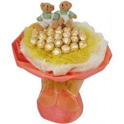 Choco Bear Bouquet 02