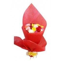 Colorful Roses Bouquet