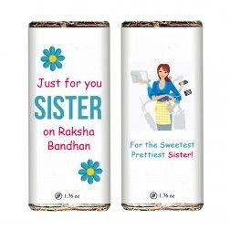 For You, My Sis Rakshabandhan Bars