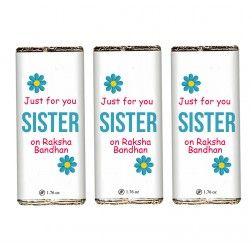 Just For You Sister Rakshabandhan Bars