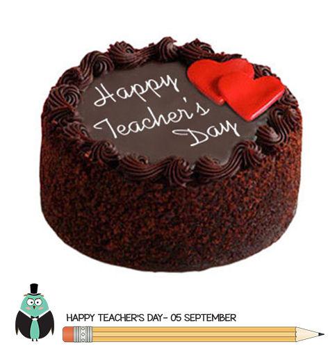 Special Chocolate Cake for Teachers - Half Kg