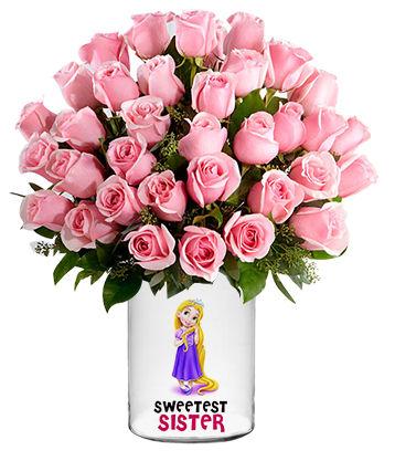 Amazing Pink Personalized Vase