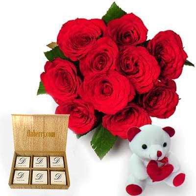 Wonderful Present with chocolates
