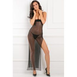 Rene Rofe All Out There Open Cup Dress