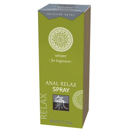 Shiatsu Anal Relax Spray - For Beginners