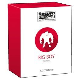 Secura Kondome Big Boy Condoms - 100 Pieces