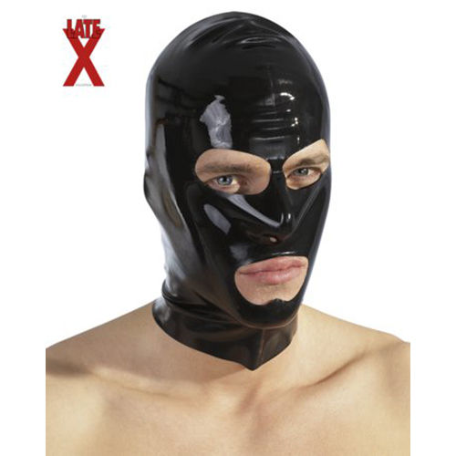 The Latex Collection Black latex hood