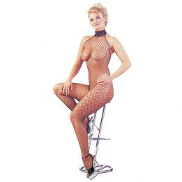 Mandy mystery Line Catsuit fishnet