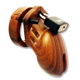 CB-X Chastity Cage Wood Look