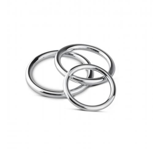 Sinner Gear Unbendable Cock/Ball Ring & Glans Ring Set