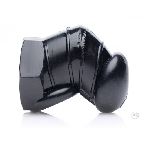 Master Series Detained - Black Restrictive Chastity Cage