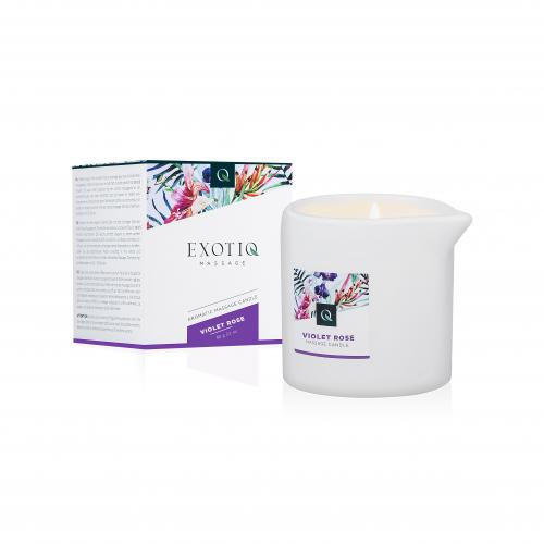 Exotiq Exotiq Massage Candle Violet Rose - 60g