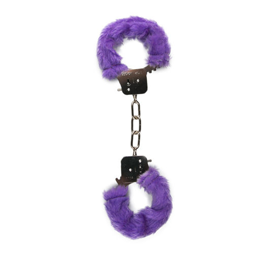 Easytoys Fetish Collection Furry Handcuffs - Purple