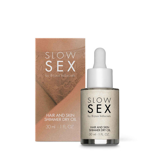 Slow Sex Hair And Skin Shimmer Dry Oil - 30 ml