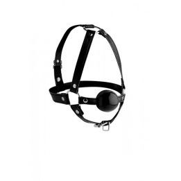 Strict Head Harness With Ball Gag