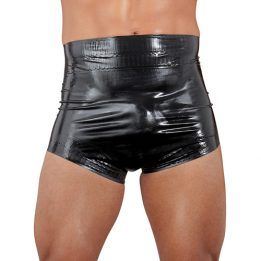 The Latex Collection Latex Diaper black