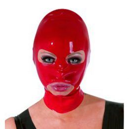The Latex Collection Latex Mask red