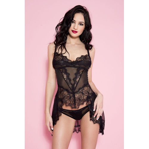 Music Legs Long Tail Lace Lace Top