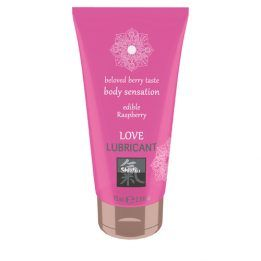 Shiatsu Love Lubricant edible - Raspberry
