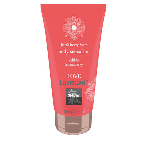 Shiatsu Love Lubricant edible - Strawberry
