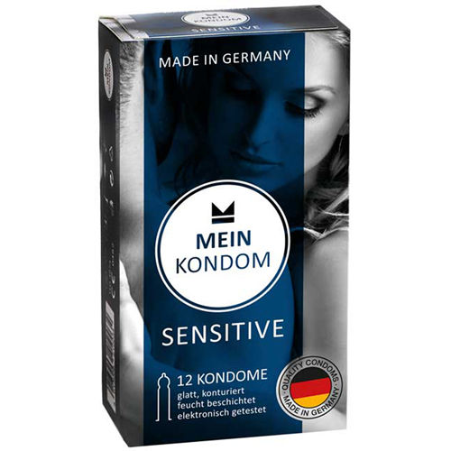 MEIN KONDOM Mein Kondom Sensitive - 12 Condoms
