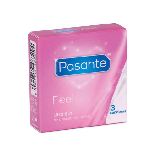 Pasante Pasante Feel condoms 3 pcs