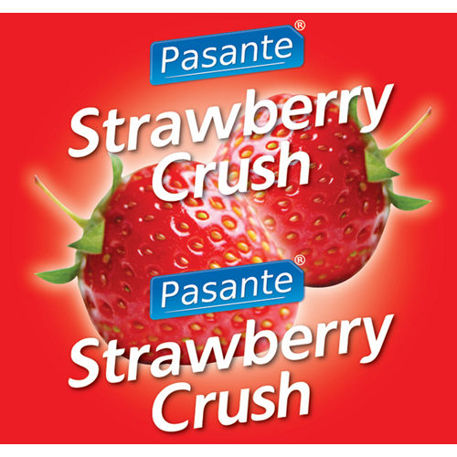 Pasante Pasante Strawberry Flavour Condome 144pcs
