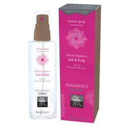Shiatsu Pheromone Bed & Body Fragrance For Women - Cherry & White Lotus