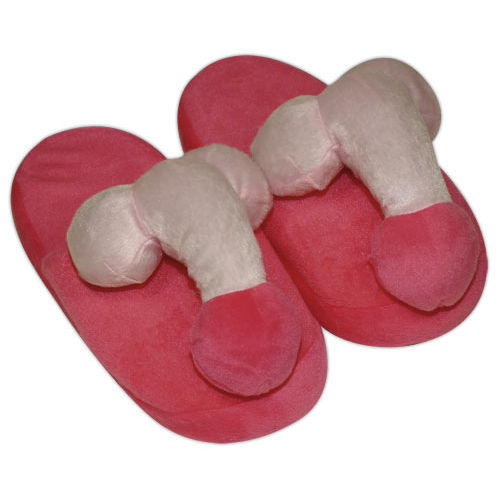 You2Toys Pink-coloured penis slippers