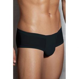 Doreanse Semi Transparent Men's Briefs - Black