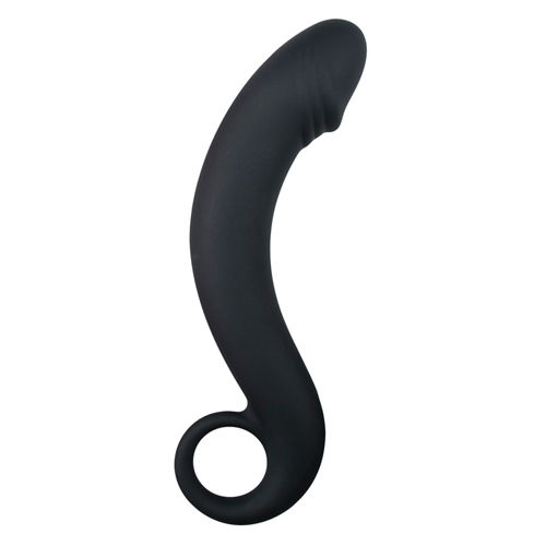 Easytoys Anal Collection Silicone Black Prostate Dildo