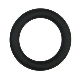 Easytoys Men Only Silicone Cock Ring Black large