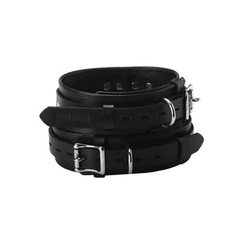 Strict Leather Strict Leather Deluxe Locking Thigh Cuffs