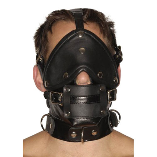 Strict Leather Strict Leather Premium Muzzle with Blindfold and Gags