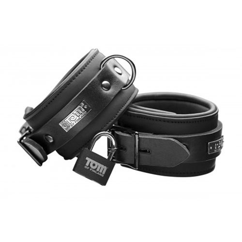 Tom of Finland Tom of Finland Neoprene Ankle cuffs w/ locks