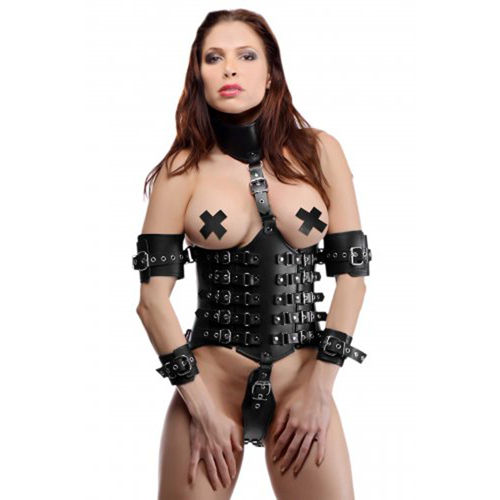 Strict Leather Ultimate Lockdown Female Waist Cincher