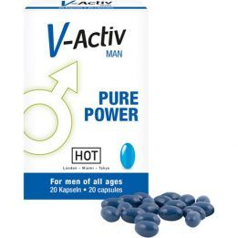 HOT V-Activ Caps For Men 20 pcs